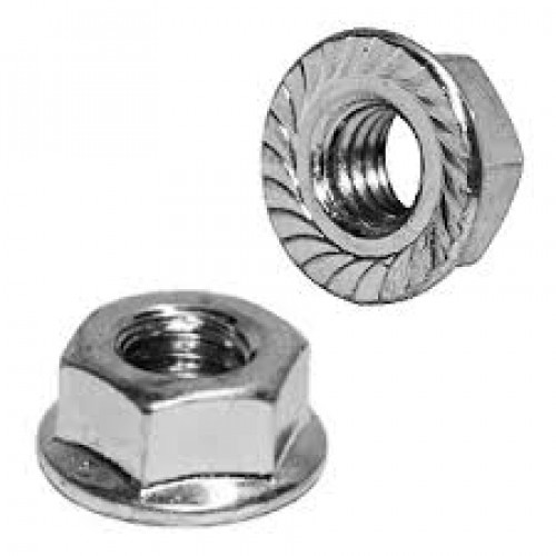 FLANGE NUT (with teething) | M12 | SW17