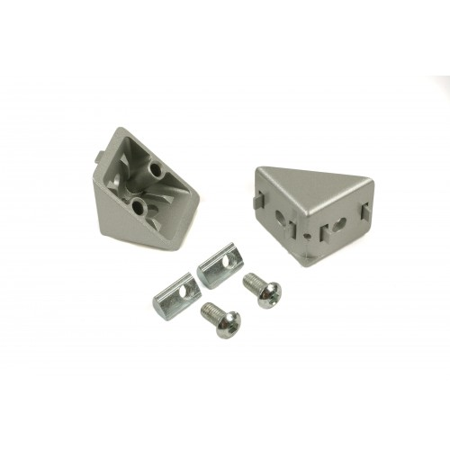 CONNECTION ANGLE 40x40 (incl. fastening set)