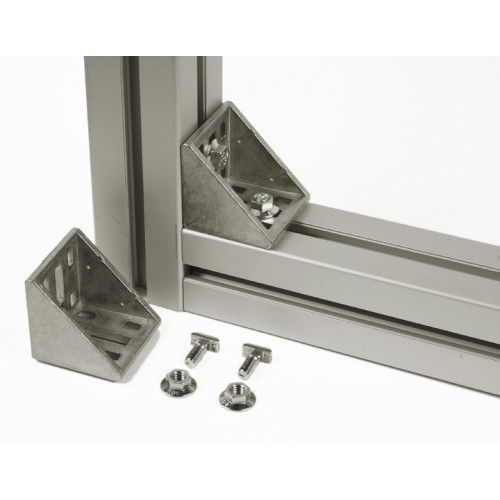 CONNECTION ANGLE 60x60 (incl. fastening set)