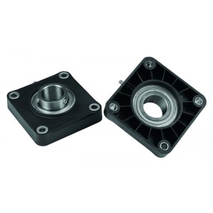 FLANGE BEARING // SOLID HOUSING (with locking collar) // UCF205 | Ø25x70x98