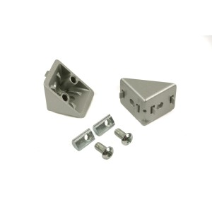 CONNECTION ANGLE 40x40 ISB (incl. fastening set)