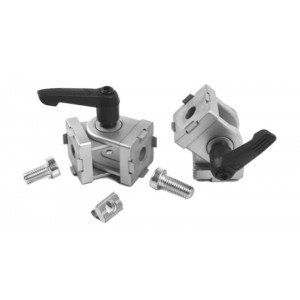 PIVOT JOINT 30 (incl. fastening set) - SLOT 8   WITH LOCKING LEVER