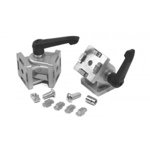 PIVOT JOINT 45 (incl. fastening set) - SLOT 10   WITH LOCKING LEVER