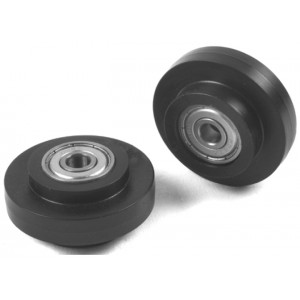 CARRIER ROLLER Ø39 WITH BALL BEARING - SLOT 8