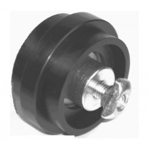 CARRIER ROLLER Ø58 WITH BALL BEARING - SLOT 10